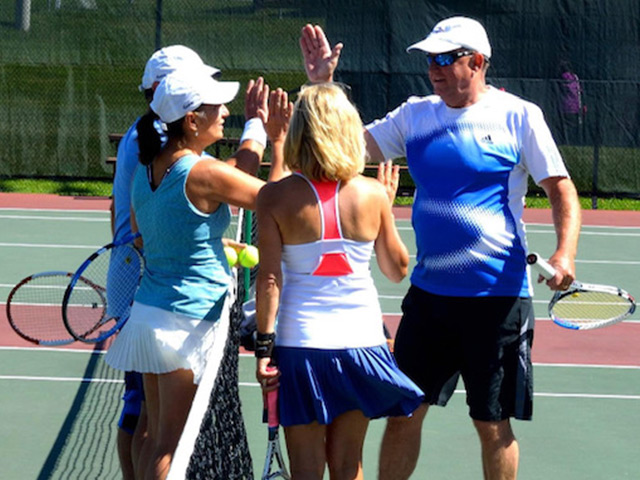 Tennis lessons for adults
